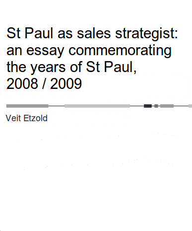 Keynote Speaker Veit Etzold Paulus: Being a powerseller