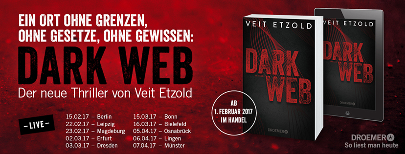 Dark Web Buchpremiere in Berlin