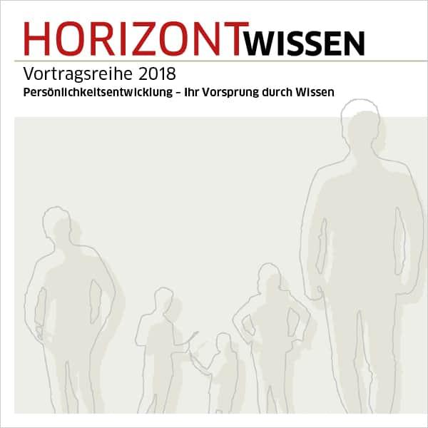 """Vortragsreihe HORIZONTWissen 2018 – Veit Etzold: Vortrag """"Aufmerksamkeitsgewinn mit Storytelling"""" und Buchpremiere"""