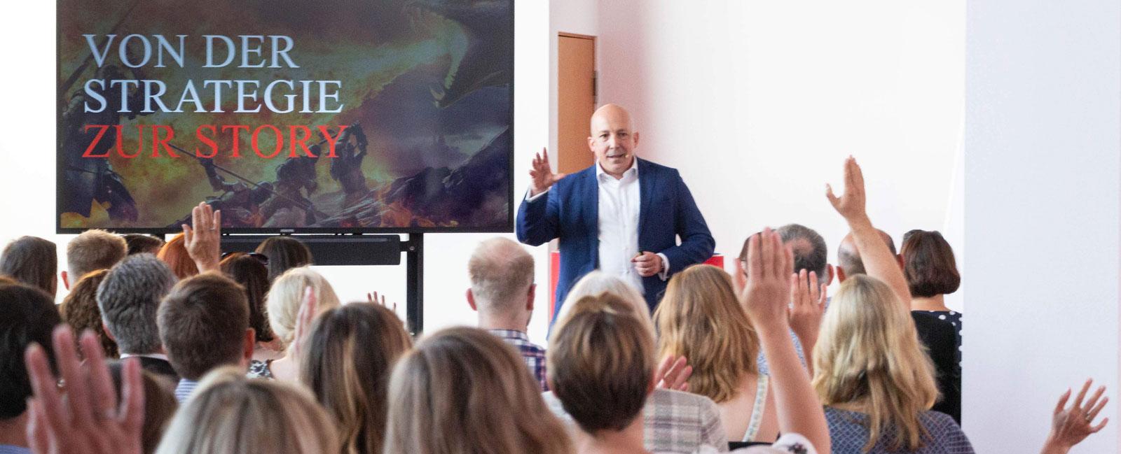 Keynote Speaker – Strategie und Storytelling