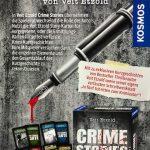 Crime Storys  das neue Krimispiel von mir Bei KOSMOS