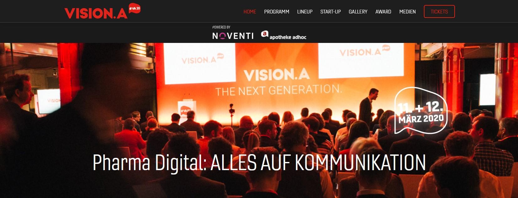 VISION.A – Keynote bei der Digitalkonferenz der Pharma- und Gesundheitsbranche