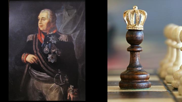 General Kutusow und Corona