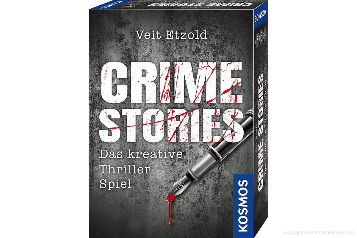 Crime Stories Review!